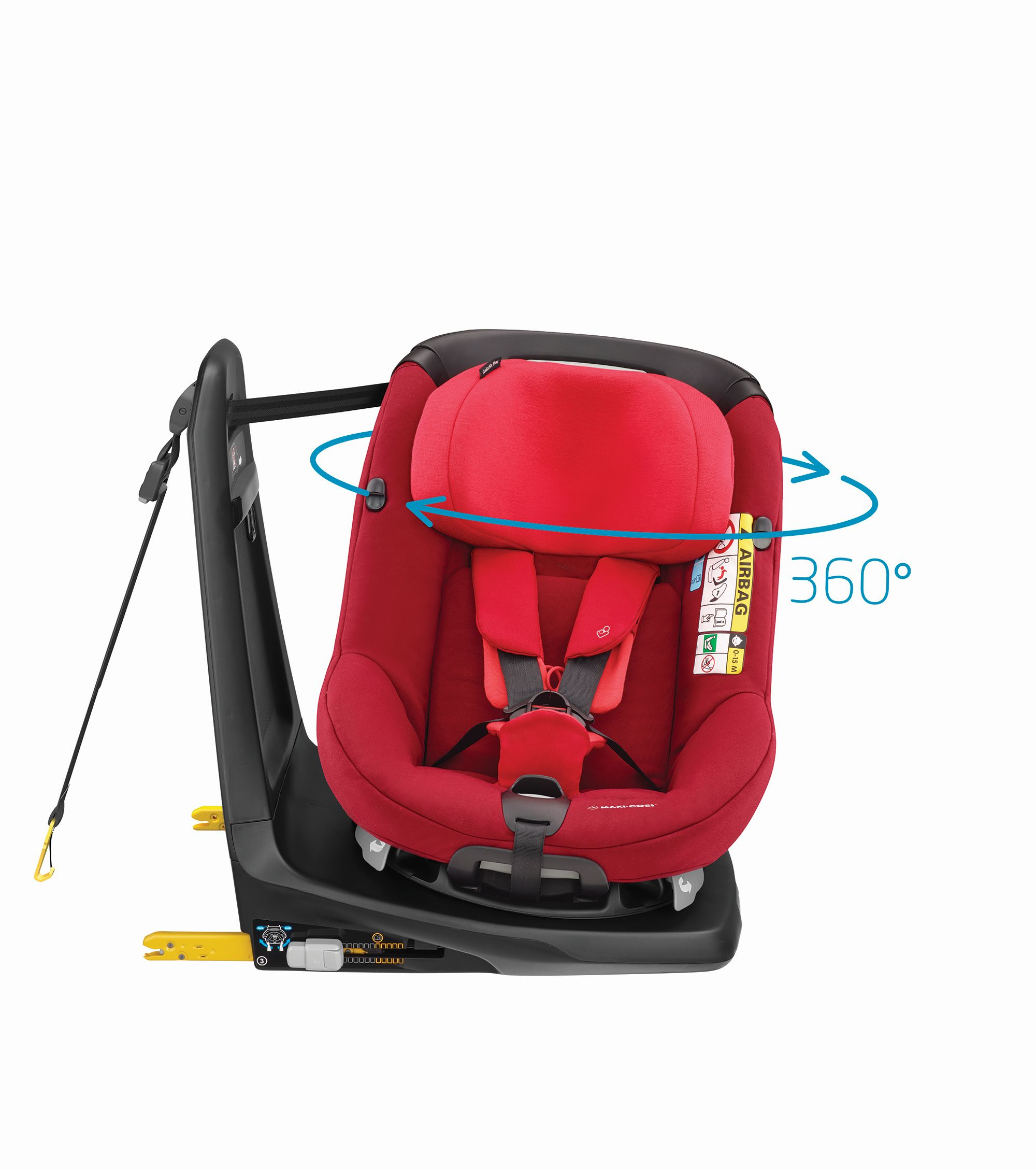 Red Chicco Car Seat >> Maxi-Cosi Child Car Seat AxissFix i-Size 2018 Vivid Red - Buy at kidsroom | Car Seats