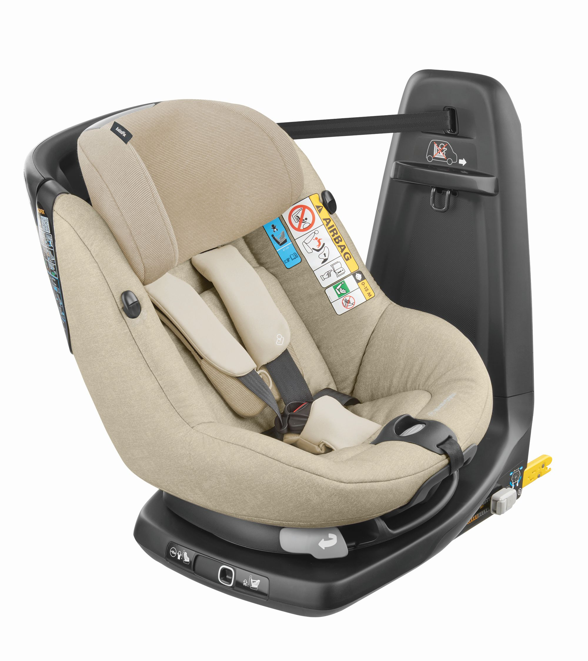 maxi cosi child car seat axissfix i size buy at kidsroom. Black Bedroom Furniture Sets. Home Design Ideas