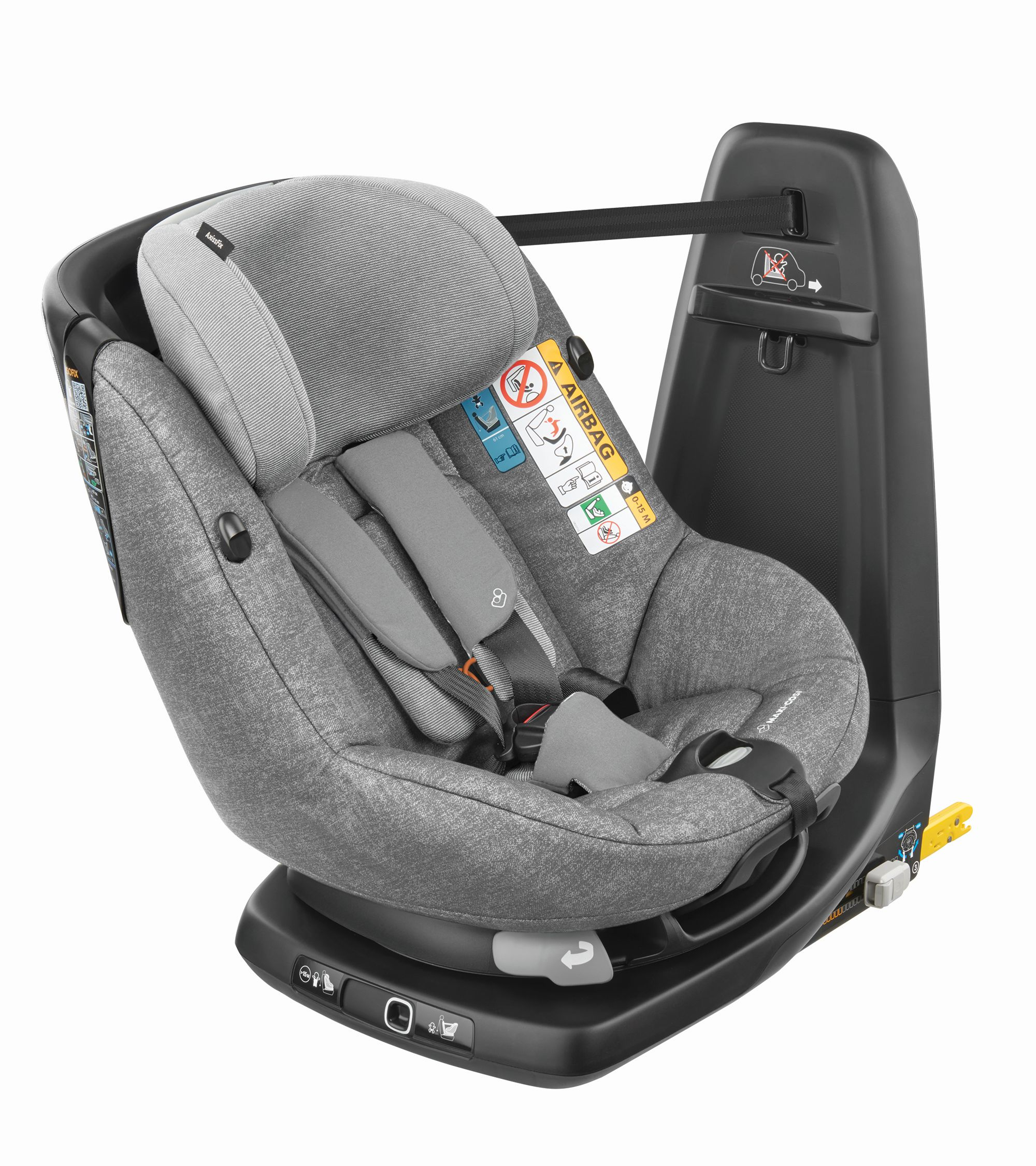 Maxi Cosi Child Car Seat AxissFix I Size Nomad Grey 2019