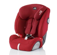 Britax Römer car seat Evolva 1-2-3 SL SICT Isofix - * The new favourite of every parent – even better now. An optimum side-impact protection and the soft-latch Isofix system will provide even more safety.