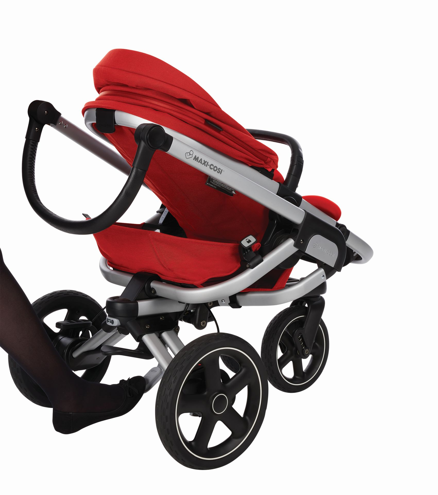 maxi cosi 3 wheels stroller nova 2018 vivid red buy at. Black Bedroom Furniture Sets. Home Design Ideas