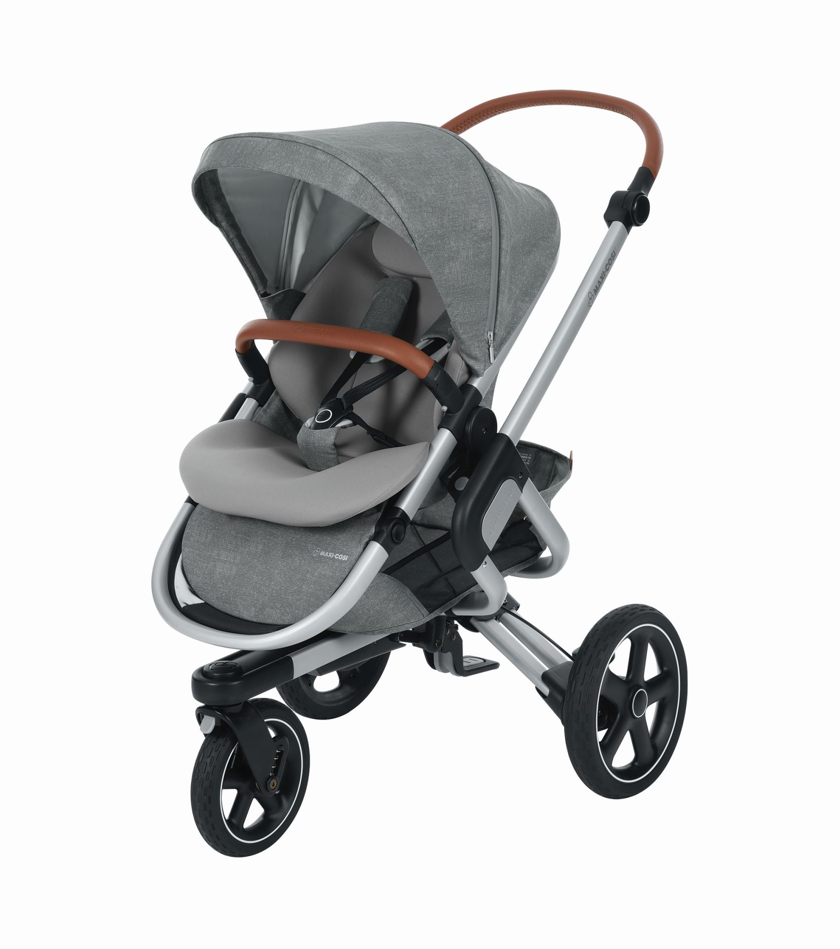 maxi cosi 3 wheels stroller nova 2018 nomad grey buy at. Black Bedroom Furniture Sets. Home Design Ideas