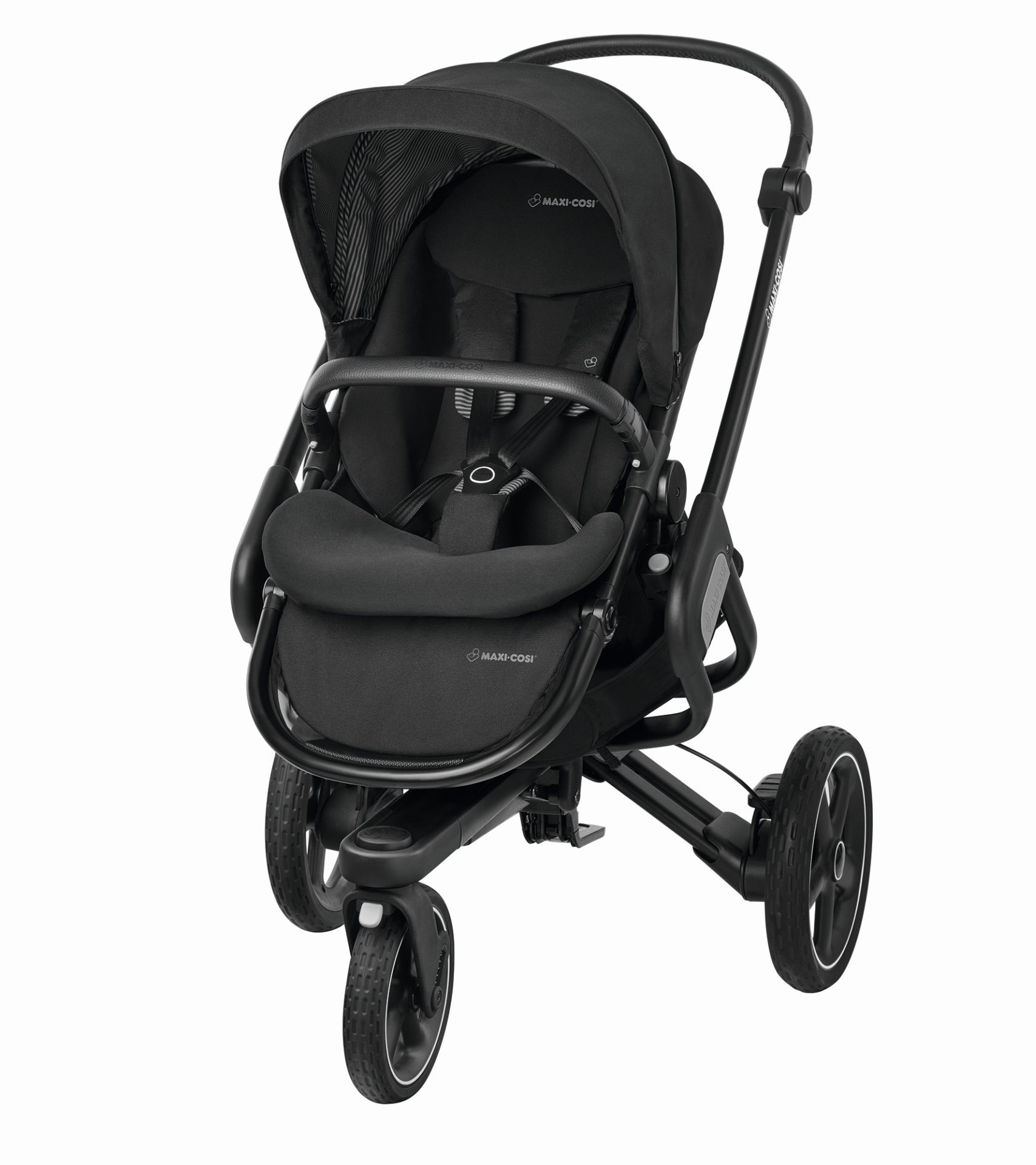 maxi cosi 3 wheels stroller nova 2017 black raven buy at. Black Bedroom Furniture Sets. Home Design Ideas