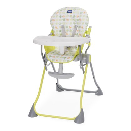 Chicco highchair Pocket Meal Green Apple 2018 - large image