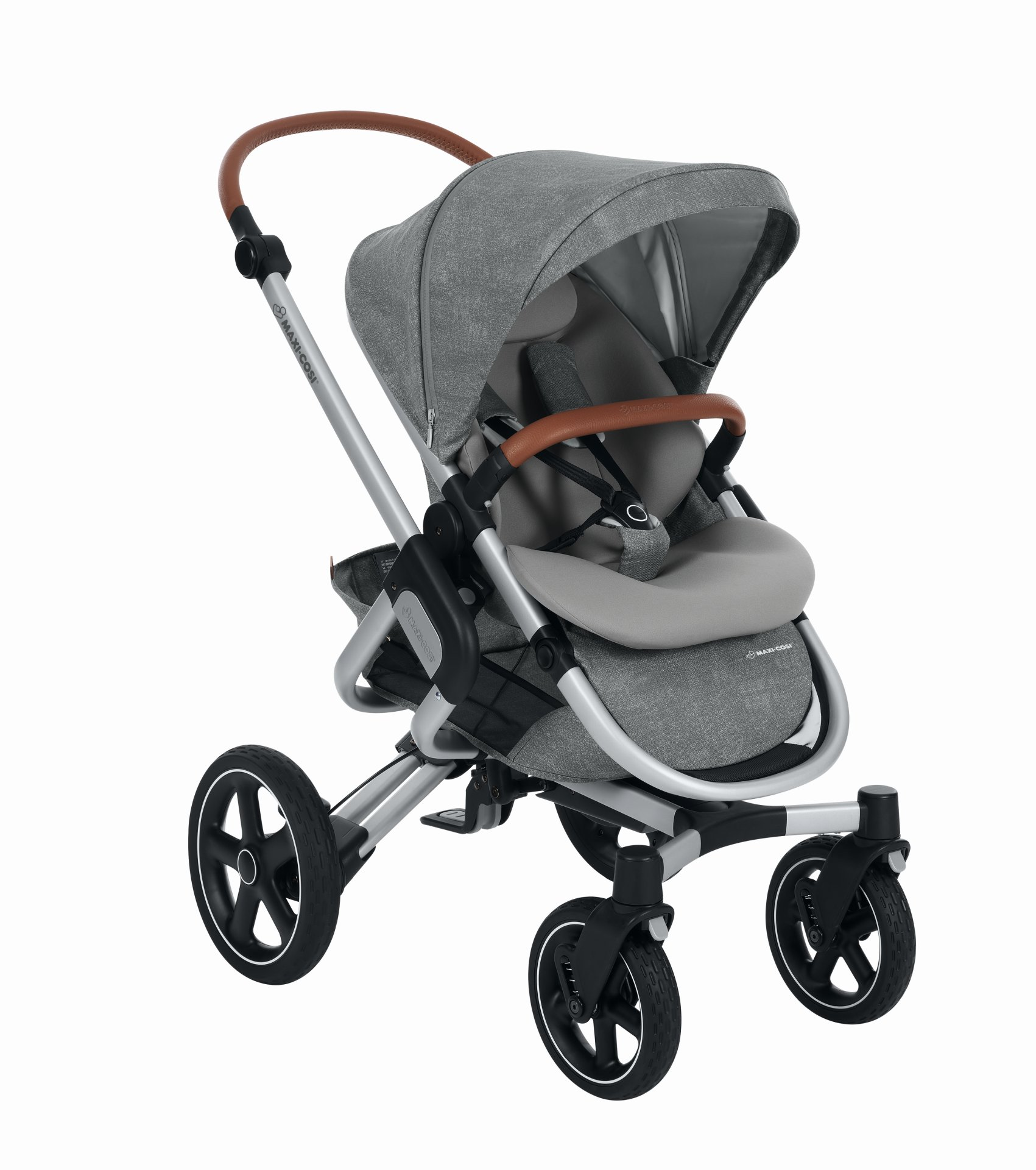 maxi cosi 4 wheels stroller nova 2019 nomad grey buy at. Black Bedroom Furniture Sets. Home Design Ideas