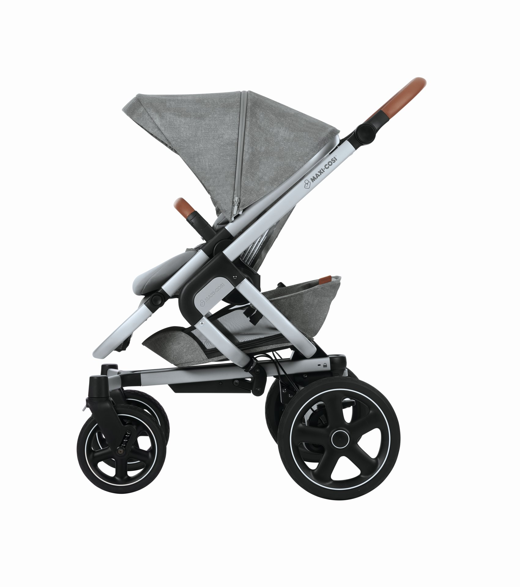 maxi cosi 4 wheels stroller nova 2018 nomad grey buy at. Black Bedroom Furniture Sets. Home Design Ideas
