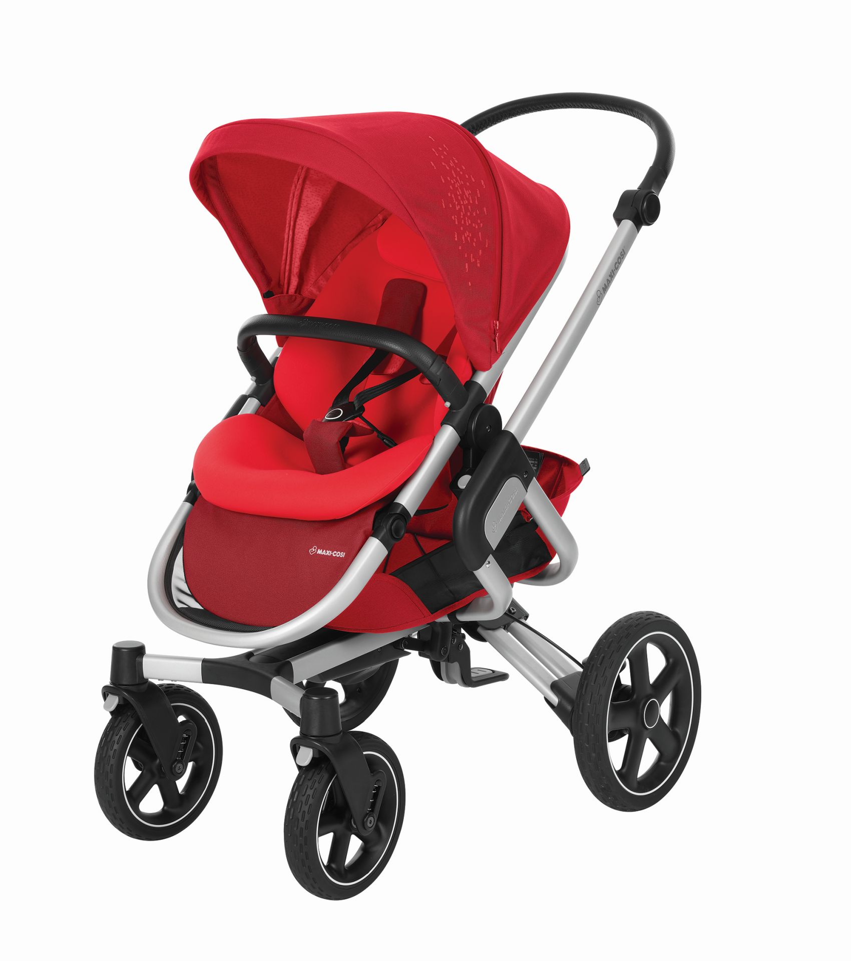 maxi cosi 4 wheels stroller nova 2018 vivid red buy at. Black Bedroom Furniture Sets. Home Design Ideas