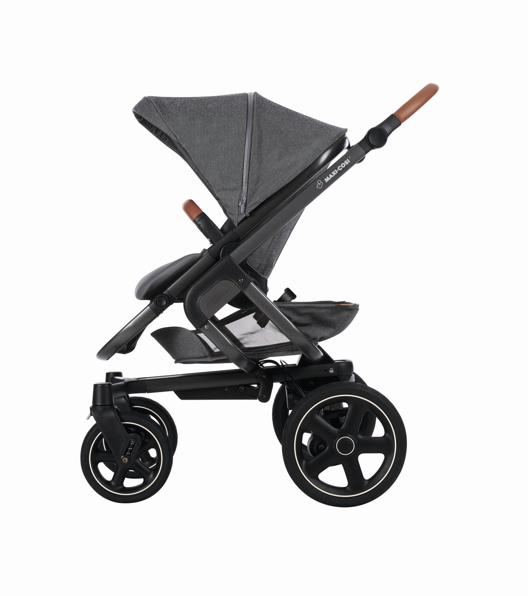 poussette maxi cosi nova 4 roues 2019 sparkling grey acheter sur kidsroom poussettes