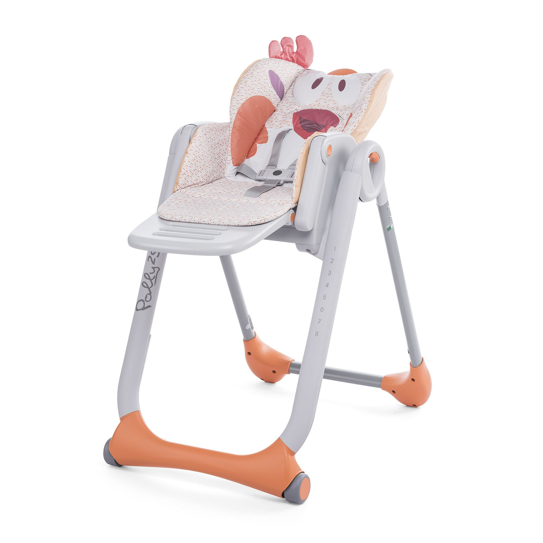 Chicco highchair polly 2 start 2017 shark buy at - Chicco chaise haute polly magic ...