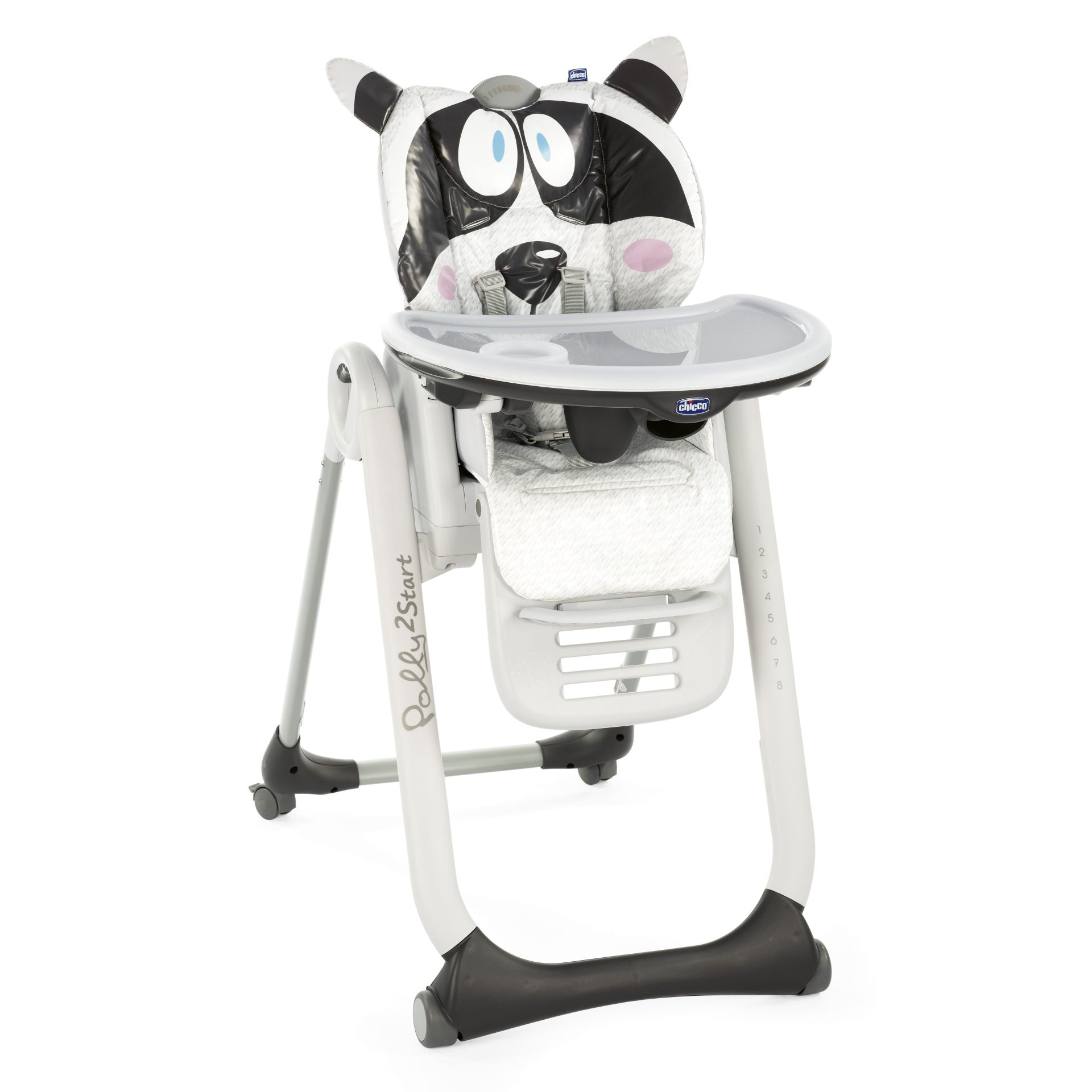Chicco Highchair Polly 2 Start HONEY BEAR 2018   Large Image 1 ...
