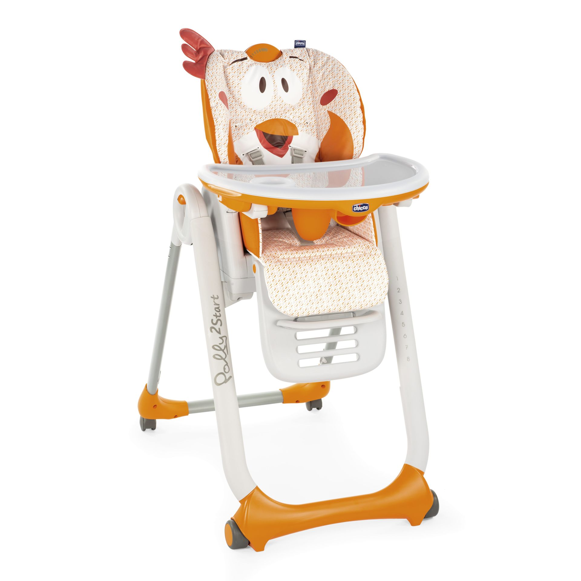 Chicco highchair polly 2 start 2018 fancy chicken buy at for Chaise 3 en 1 chicco