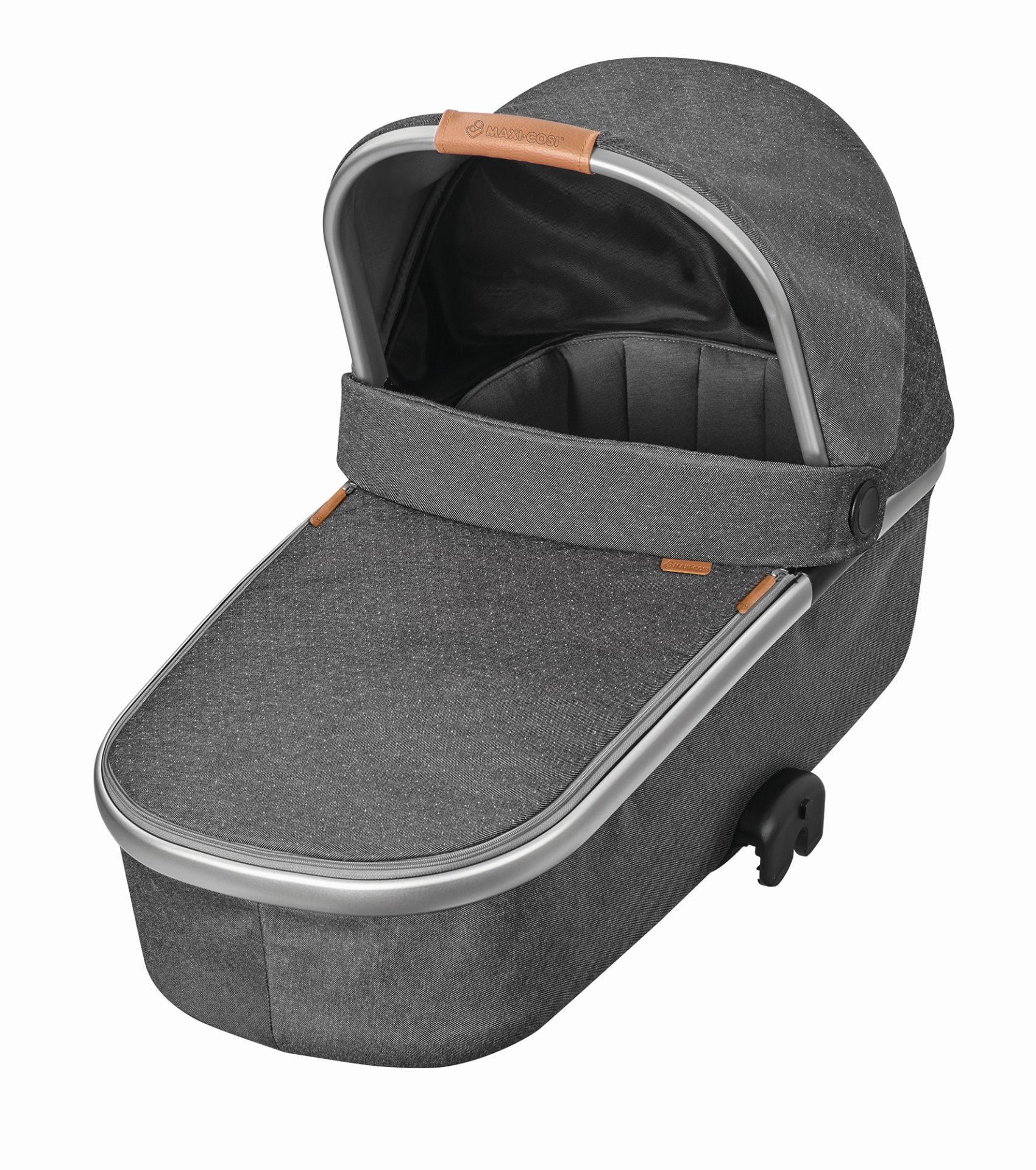maxi cosi carrycot oria 2018 sparkling grey buy at kidsroom strollers. Black Bedroom Furniture Sets. Home Design Ideas