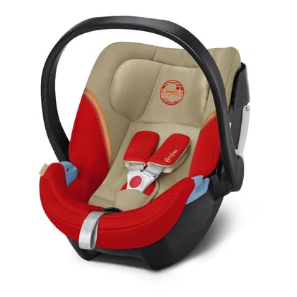 Cybex Infant Car Seat Aton 5 Autumn Gold - burnt red 2020 - large image