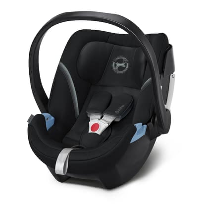 Cybex Infant Car Seat Aton 5 Deep Black - black 2020 - large image
