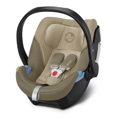 Cybex Infant Car Seat Aton 5 Classic Beige - mid beige 2020 - large image