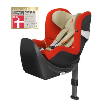 Cybex car seat Sirona M2 i-Size  incl. base M Autumn Gold - burnt red 2017 - large image