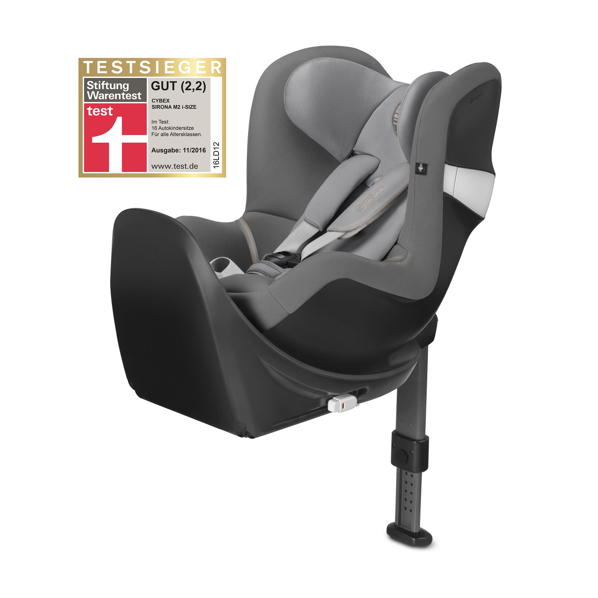 cybex car seat sirona m2 i size incl base m 2018 manhattan grey mid grey 2018 buy at. Black Bedroom Furniture Sets. Home Design Ideas