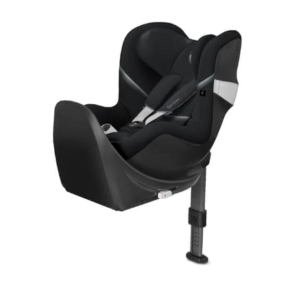 Cybex Child Car Seat Sirona M2 i-Size including Base M Deep Black - black 2020 - large image