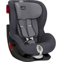 Britax Römer Child Car Seat King II LS – Black Series – - * The Britax Römer child car seat King II LS provides your child with many relaxed rides in your car. The innovative five-point harness with light and sound indicator help mom and dad fasten their child correctly.