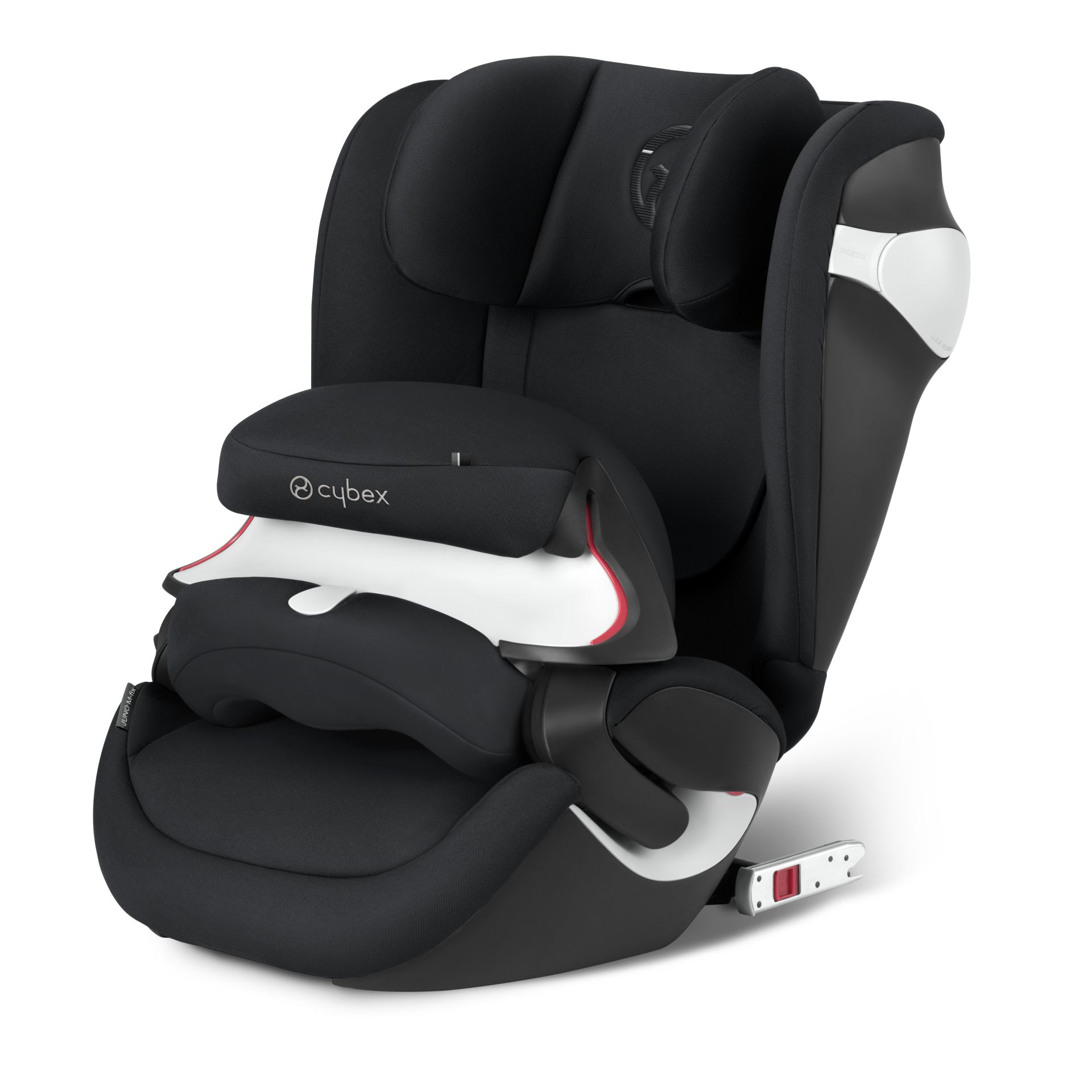 cybex car seat juno m fix 2017 stardust black black. Black Bedroom Furniture Sets. Home Design Ideas