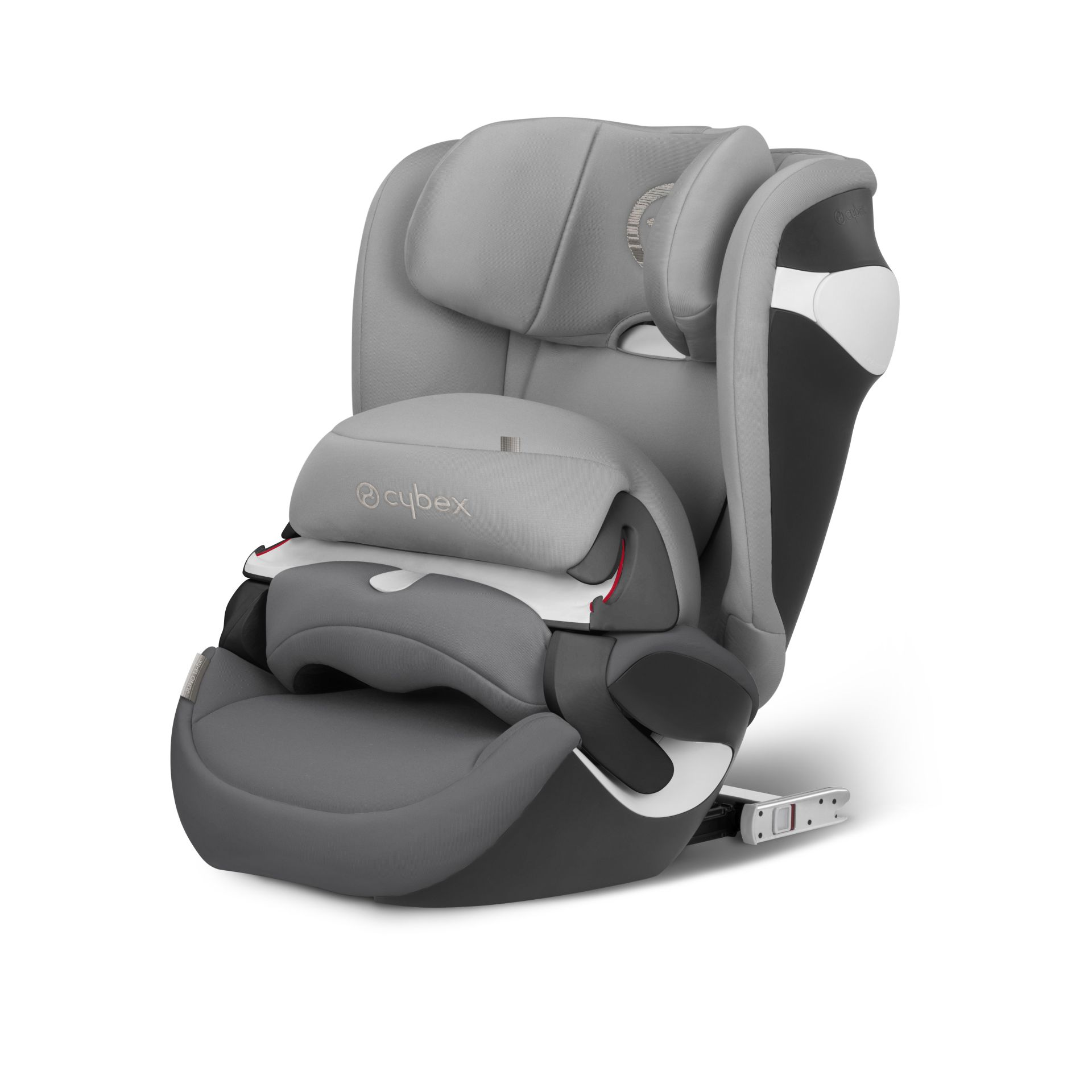 cybex car seat juno m fix 2018 manhattan grey mid grey. Black Bedroom Furniture Sets. Home Design Ideas