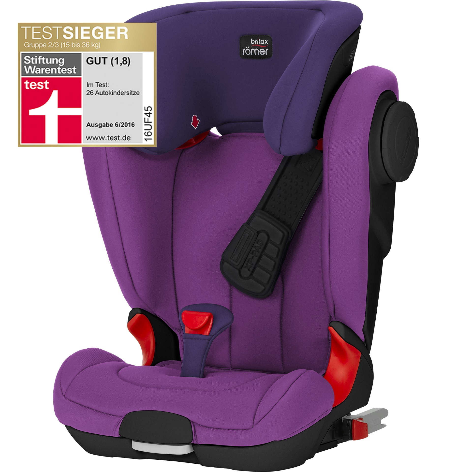 Britax Car Seat Kidfix Xp Sict Purple