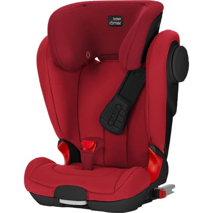 Britax Römer Child Car Seat Kidfix II XP SICT – Black Series Fire Red 2019 - large image