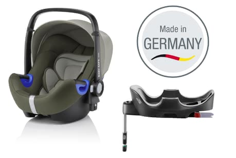 Britax Römer Infant Car Seat Baby Safe i-Size including Flex Base -  * The infant car seat Baby Safe i-Size by Britax Römer offers plenty of space to grow and provides a flat recline position.