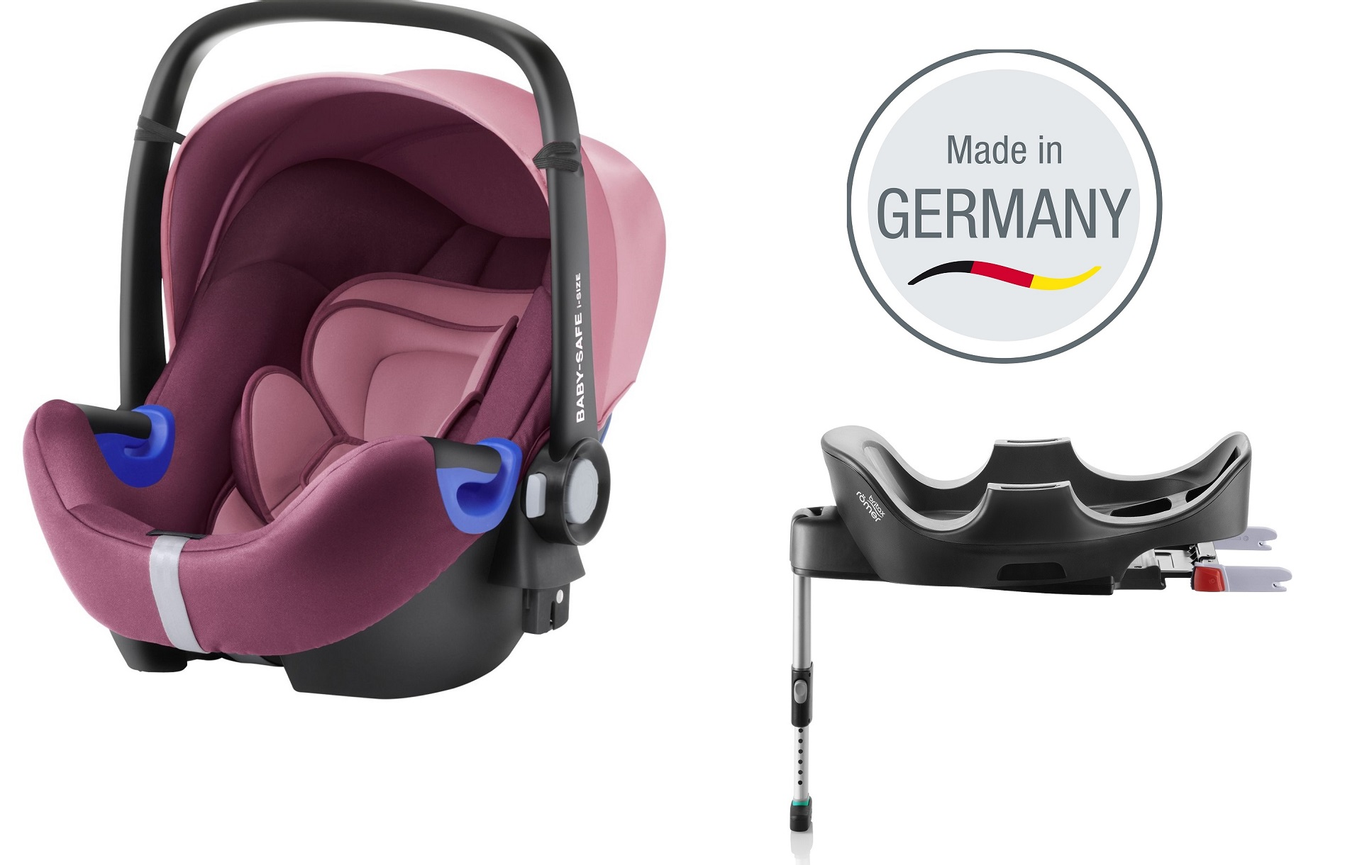 britax r mer infant carrier baby safe i size incl flex. Black Bedroom Furniture Sets. Home Design Ideas