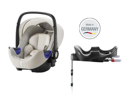 Britax Römer Infant Car Seat Baby Safe i-Size including Flex Base Sand Marble 2018 - large image