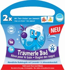 Tinti Träumerle Bath Bomb - * This bubble bath will spoil your little one's skin.