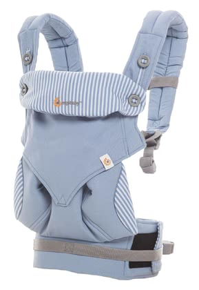 Ergobaby baby carrier 360° Azure Blue - large image