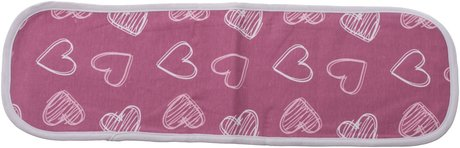 Bieco Burp Cloth rosa - large image