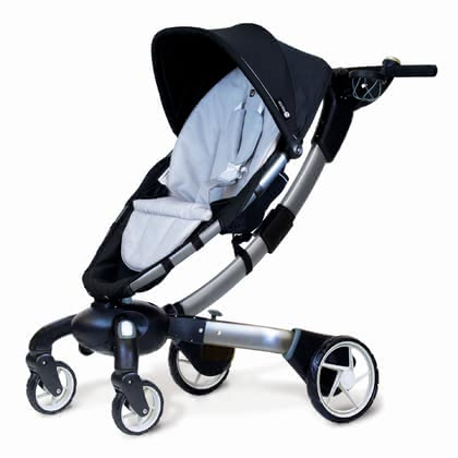 4moms Stroller origami - * the origami of the US-American manufacturer is the first stroller worldwide with an electrical folding mechanism.