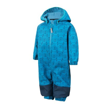 Color Kids RAJO Softshell Jumpsuit - * This overall is multiply deployable and offers a well protection against rain and wind.