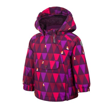 Color Kids RAIDONI Padded Jacket with Plush Fabric - * The Color Kids winter jacket is lined well and an absolute eye-catcher with the all-over-print.