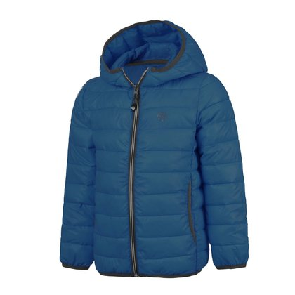 Color Kids quilted jacket RAKKE Deep Ocean - large image