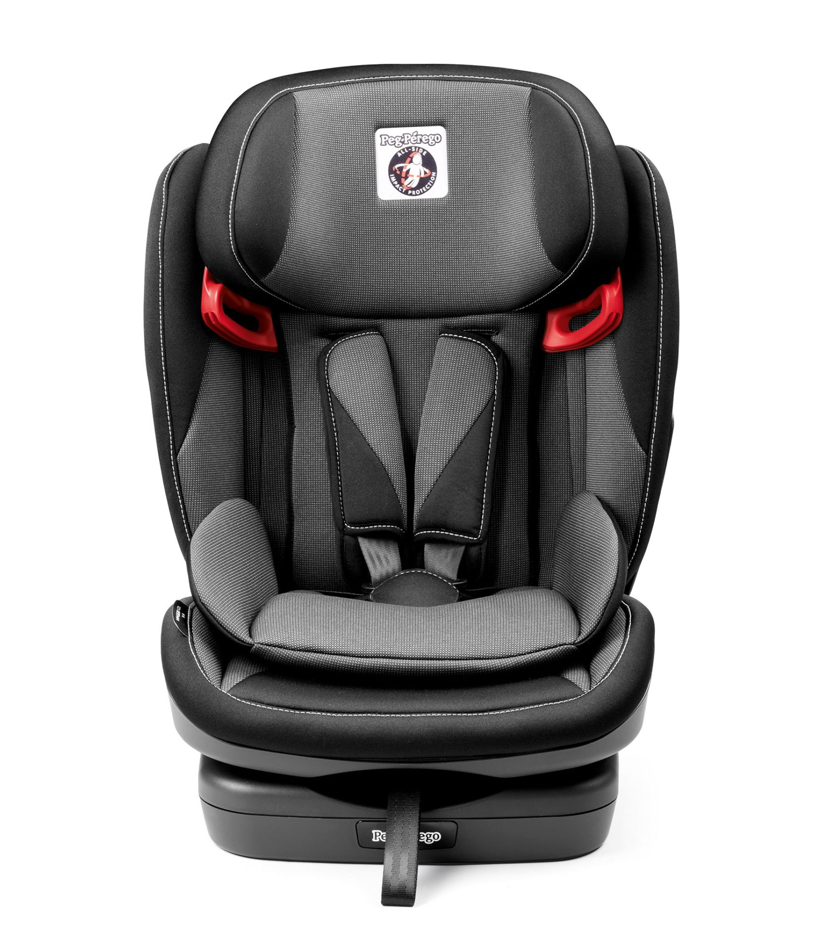 peg perego car seat viaggio 1 2 3 via 2018 crystal black buy at kidsroom car seats. Black Bedroom Furniture Sets. Home Design Ideas