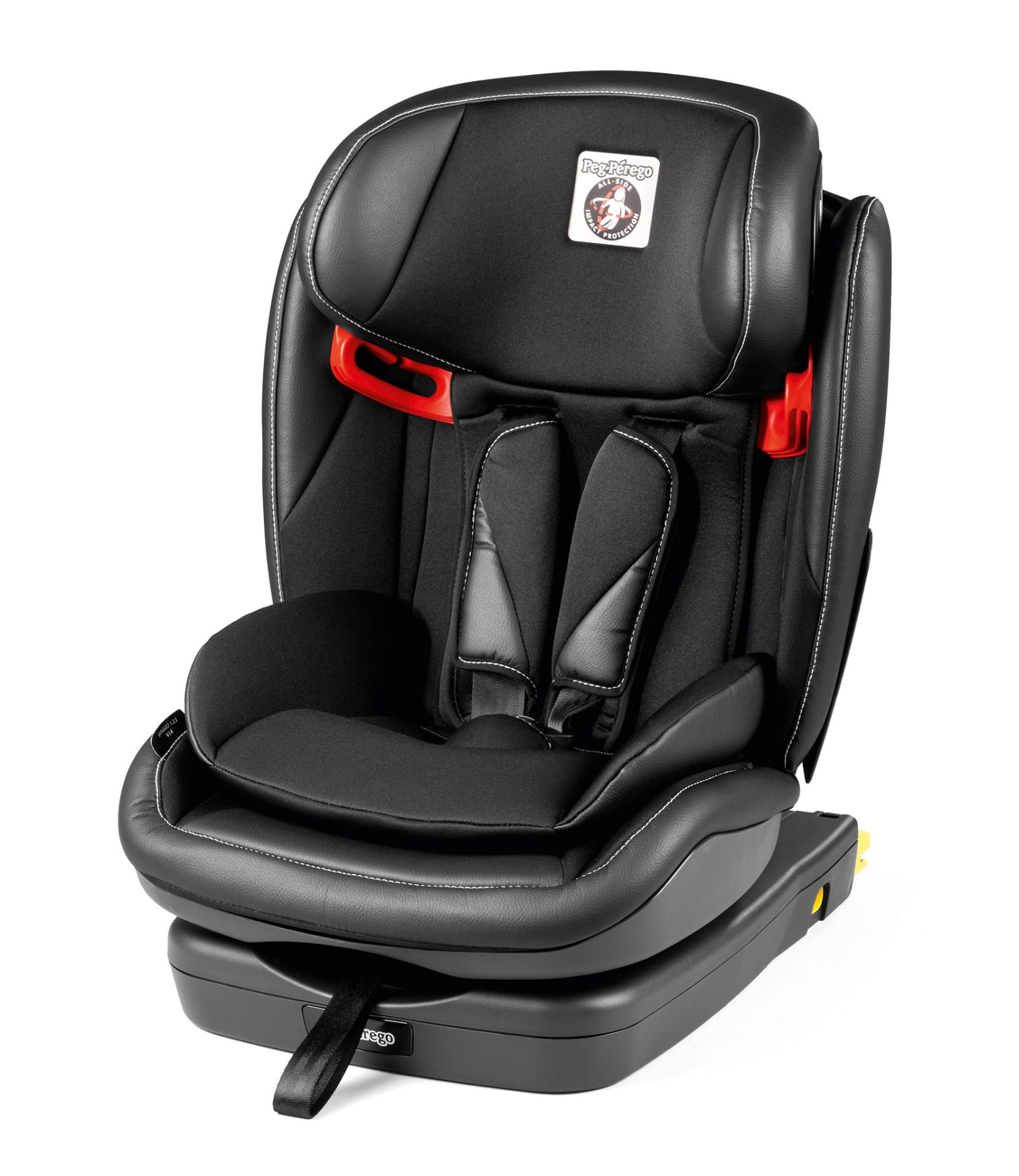 peg perego child car seat viaggio 1 2 3 via 2018 licorice. Black Bedroom Furniture Sets. Home Design Ideas