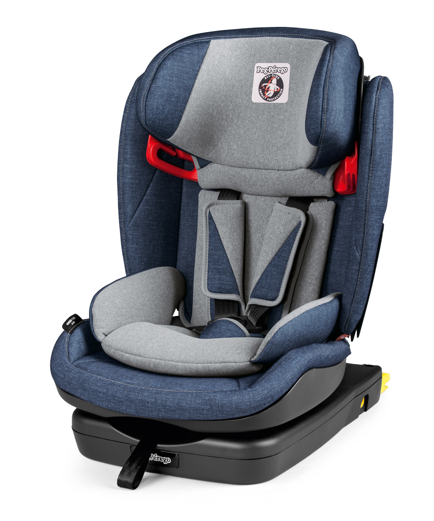 Peg Perego Child Car Seat Viaggio 1 2 3 Via Urban Denim 2018