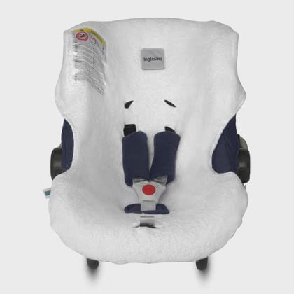 Inglesina Summer Cover for Infant Car Seat Huggy -  * The breathable and sweat-absorbing summer cover can be pulled over the regular cover of your Inglesina Infant Car Seat Carrier Huggy easily and in no time at all.