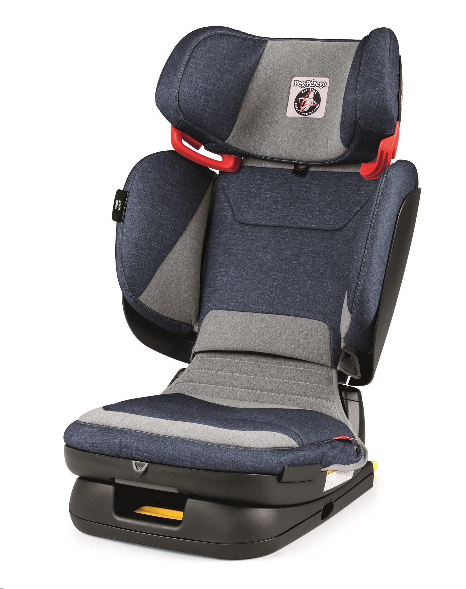 Peg Perego Child Car Seat Viaggio 2-3 Flex 2018 Urban Denim - Buy at ...