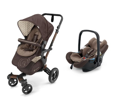Concord Buggy NEO incl. Infant Car Seat Carrier Air.Safe Toffee Brown 2017 - large image