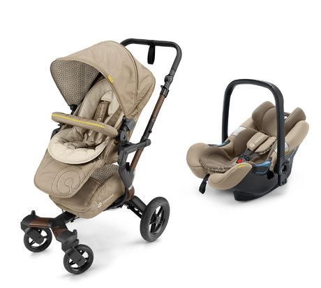Concord Buggy NEO incl. Infant Car Seat Carrier Air.Safe Powder Beige 2017 - large image