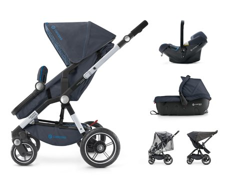 Concord CAMINO Travel-Set - * The multi-functional CAMINO travel set by Concord will accompany you from birth on with carrycot, infant carrier and sport stroller.