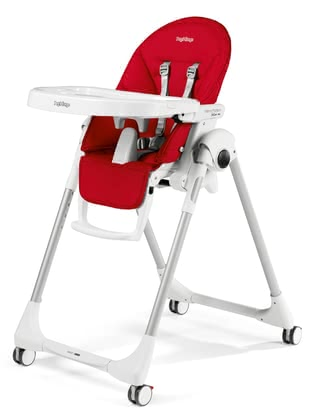 Peg-Perego Highchair Prima Pappa Zero3 -  * The Peg-Perego Prima Pappa Zero3 convinces with its easy handling, smart design and long service life. The high chair is suitable form birth up to three years of age. It grows with your child from a recliner chair to a high chair.