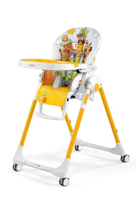 Peg-Perego Highchair Prima Pappa Follow Me Fox u0026 Friends 2019 - large image  sc 1 st  Baby products online store - worldwide shipping & Peg-Perego Highchair Prima Pappa Follow Me 2019 Fox u0026 Friends - Buy ...