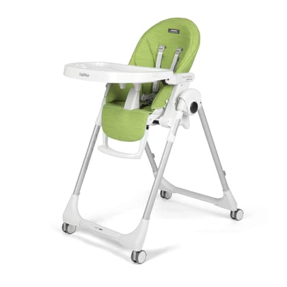 Peg-Perego Highchair Prima Pappa Follow Me -  * The Peg-Perego Prima Pappa Follow Me convinces with its easy handling, smart design and long service life. The high chair is suitable form birth up to three years of age. It grows with your child from a recliner chair to a high chair.