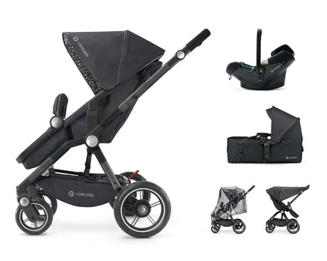 Concord CAMINO Mobility-Set - * The Concord CAMINO Mobility set contains a sport stroller, a carrycot and an infant carrier. Thus you are flexible in every situation.