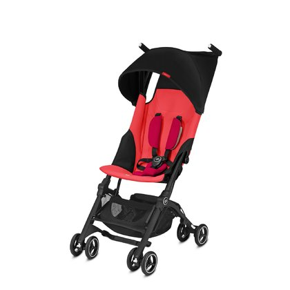 gb par Cybex poussette pliante Pockit + - * The compact travelling buggy Pockit+ by gb by Cybex also scores with an individual adjustable back rest now.